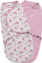 SwaddleMe Original Swaddle inbakerdoek - 2-pack Tweet Tweet - Small