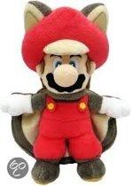 Super Mario Peluche Mario flying squirrel 21cm