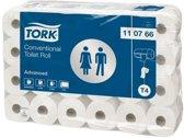 Tork Advanced toiletpapier 2-lgs wit 32 mtr x10cm pak à 64 rol/250 vel (110767)