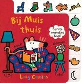 Kinderboeken Bij Muis thuis (karton met tabs). 1+