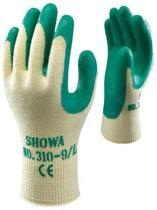 Showa Grip 310 handschoen, groene palm maat L