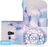 iCarer Dreamcatcher print wallet case hoesje Samsung Galaxy S3 mini