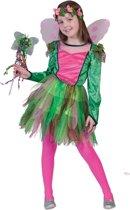 Elfen Feeen & Fantasy Kostuum | Rosy De Elf | Meisje | Maat 164 | Carnaval kostuum | Verkleedkleding