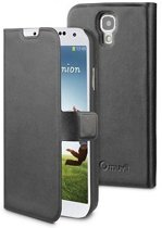 muvit Samsung Galaxy S4 Folio Slim Case Black + Card Slot
