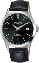 Pulsar PS9457X1 horloge heren - zwart - edelstaal