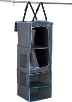 Bo-Camp Organizer - 4-vaks - 1 Deur - 34x34x96 Cm