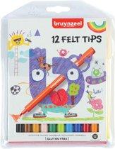 Bruynzeel Kids 12 viltstiften