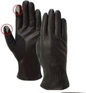 Laimböck Dames Touchscreen Handschoenen Mesero Zwart Maat 7.5