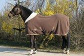 Harry's Horse Teddyfleece deken 1/2 hals 195cm bruin