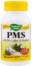 PMS met Vitamine B6 & 5-HTP (100 Capsules) - Nature's Way