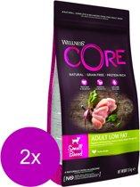 Wellness Core Grain Free Dog Healthy Weight Small Breed - Hondenvoer - 2 x Kalkoen 1.5 kg