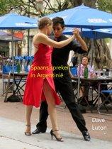 Spaans spreken in Argentinië