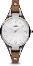 Fossil ES3060 - Horloge -32 mm - Bruin