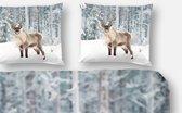 Dekbedovertrek Deer - 140x200/220