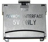 Originele 64 pins CI+ kaart adapter voor Samsung televisies