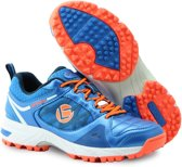 Brabo Brabo Tribute shoe Blue/Orange Hockeyschoenen Unisex - Orange