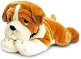 Keel Toys pluche Bulldog knuffel 50 cm