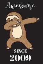 10th Birthday Dabbing Sloth