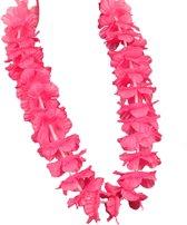 Hawaii kransen - Roze
