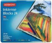 Derwent Inktense blocks 24 stuks blik DIB2300443