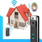 KEELEAD draadloze -deurbel - camera- telefoon connect- deurbel camera-intercom - opslag mogelijkheden