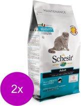 Schesir Cat Dry Maintenance Vis - Kattenvoer - 2 x 1.5 kg
