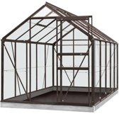 ACD serre 'Intro Grow Lily' gehard glas & aluminium antraciet 6,2 m²