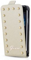 Guess Studded Collection Samsung Galaxy S4 Mini Flip Case Cream