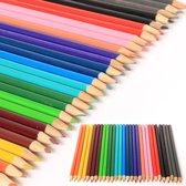 36 Kleurpotloden 17cm potlood kleuren kleurpotlood in kartonnen doos