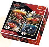 4 in 1 - Cars 3 Puzzel