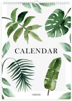 Verjaardagskalender - Botanisch - A4 - Groen - Fabrikten