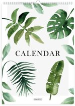 Jaarkalender - Verjaardagskalender - Botanical - A4