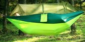 Hangmat met klamboe ★ lichtgewicht parachute nylon hangmat ★