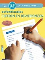 Tijd voor huiswerk - Oefenblaadjes rekenen 10-11 jaar cijfers en bewerkingen vijfde leerjaar groep 7