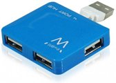 USB2.0 Hub mini 4 port blue