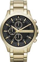 Armani Exchange Chronograaf horloge  - Goudkleurig