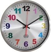 GTG Happy Hours  30  Stil - Klok - Rond - RVS - Ø 30 cm - Stil uurwerk