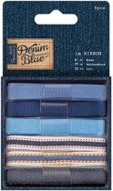 1 meter Lint (6stuks) - Denim Blue
