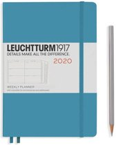 Leuchtturm agenda 2020 7d2p medium harde kaft nordic blue