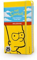 Moleskine notitieboek The Simpsons - Limited Edition - Pocket - Geel - Gelinieerd