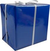 LOVLY® Cadeaupapier, 30cm, 200m, 70gr/m², Uni´s, blauw