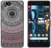 MP Case TPU case Mandala print voor Google Pixel 2 -Achterkant / backcover
