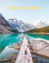 Travel Journal: For Holiday Planning and Recording, 120 pages of lined paper, 8.5 x 11 inches