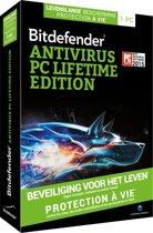 Bitdefender Antivirus - Nederlands / Frans / Levenslang / 1 Apparaat