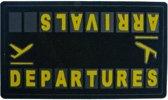 Balvi - Deurmat Aankomst en vertrek Luchthaven Buiten
