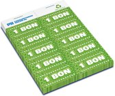 Consumptiebonnen Structuur 11.10 • 100% kringloop papier • 2.000 bonnen