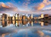 Papermoon Manhattan Sunrise Vlies Fotobehang 350x260cm 7-Banen