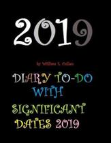 Diary To-Do with Significant Dates 2019
