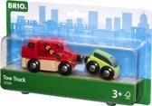 BRIO Sleepwagen met auto - 33528