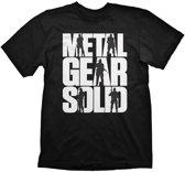 METAL GEAR SOLID - T-shirt black Logo